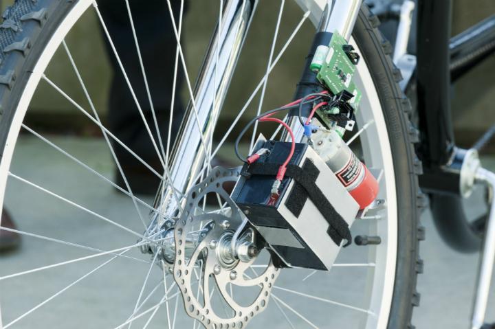 Беспроводные тормоза для велосипеда - иногда неудачными будут три из пяти торможений Tpl