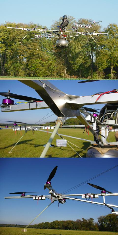 Необычные летательные аппараты - Страница 2 Tyl