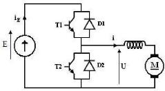 Cablage hacheur réversible en courant Simulation-et-etude-experimentale-d-un-hacheur-devolteur--base-d-un-MOSFET-Metal-Oxyde-Semicon59