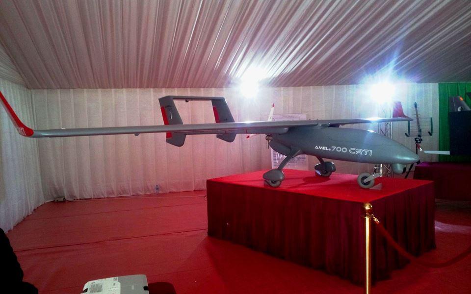 الصناعة العسكرية الجزائرية : طائرة بدون طيار [  امل 700-2  ] Amel2