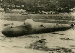 U-boote de poche allemand à Menton (06) 1944 Torpille_humaine_allemande_44