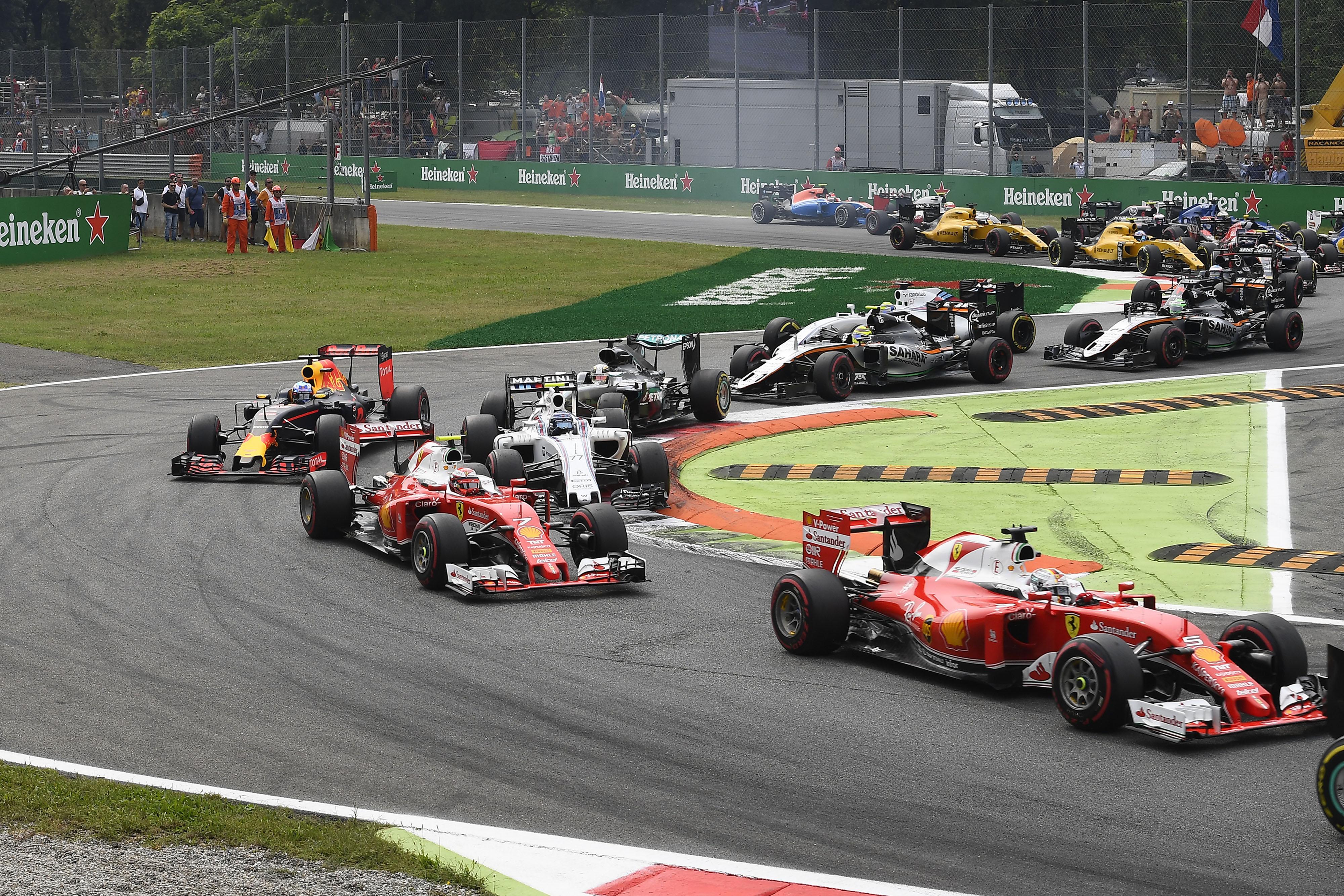   F1 16 T.XVI   Sanciones Gran Premio Italia  160066-ita