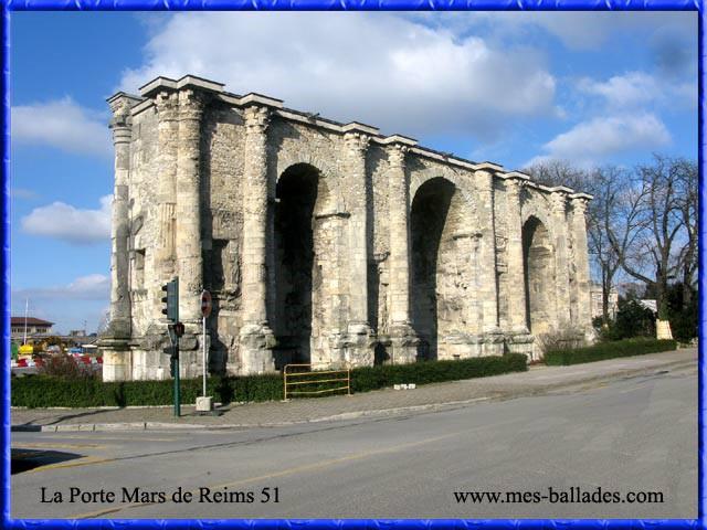 Un monument - Cathy - 8 Décembre- trouvé par Jovany - Page 2 Porte_Mars_Reims