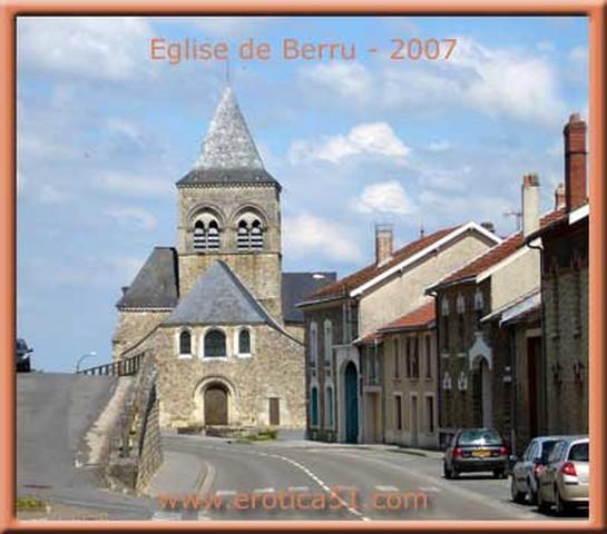La petite ville de Berru est en fête! Eglise-berru