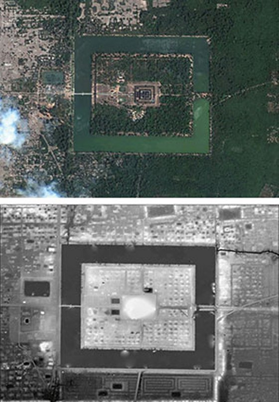 Mysterious New Structures Discovered At Angkor Wat  Angkorwat3