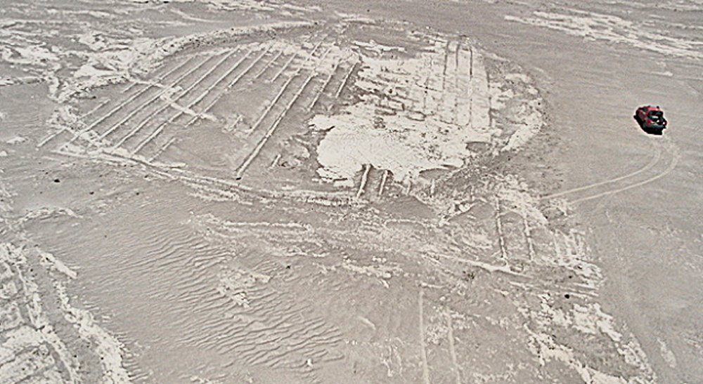 Mysterious Ruins Of Nuevo Albergis - Clearly Seen On Google Earth But Undetectable From The Ground Atacam04