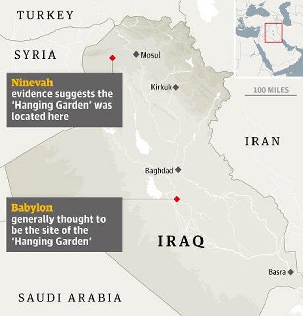 Ancient Script Reveals Mysterious Location Of Legendary Hanging Garden Of Babylon Hanginggarden3