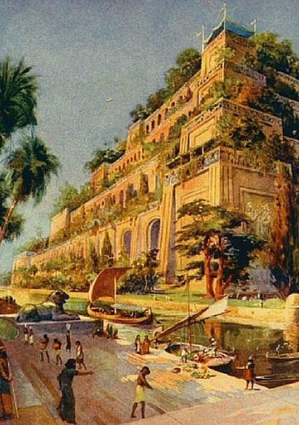 Ancient Script Reveals Mysterious Location Of Legendary Hanging Garden Of Babylon Hanginggarden5