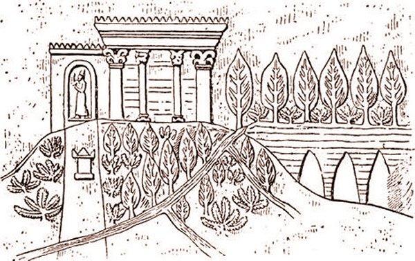 Ancient Script Reveals Mysterious Location Of Legendary Hanging Garden Of Babylon Hanginggardenbabylon