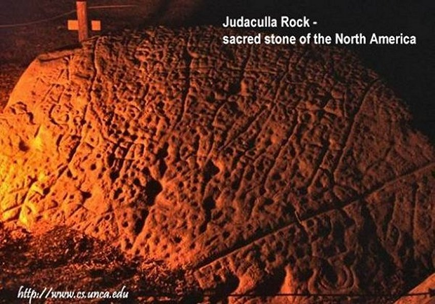 Judaculla Rock's Mystery - Does It Contain A Secret Coded Message To Mankind? Jud101