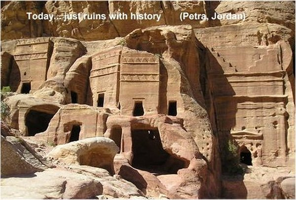 Unclear Purpose Of Mysterious Rock-Cut City Of Petra - Was It A Fortress Or Sacred City? Petrajordan2