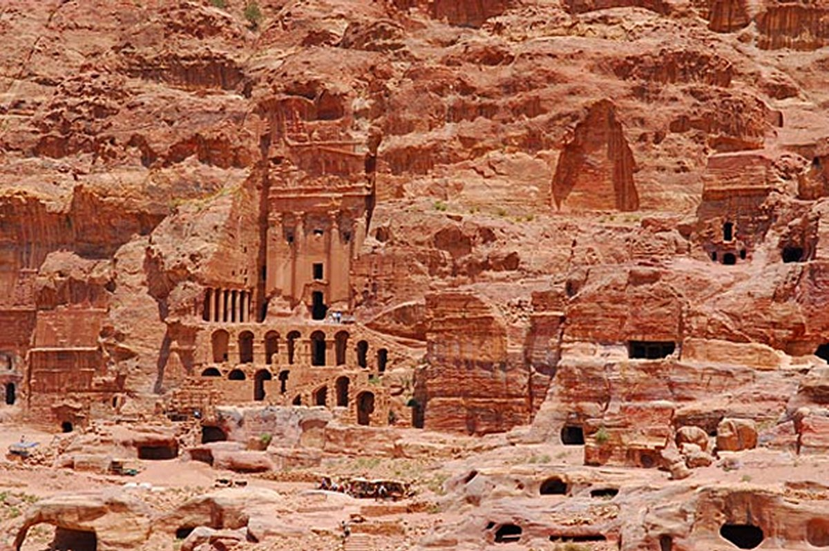 Unclear Purpose Of Mysterious Rock-Cut City Of Petra - Was It A Fortress Or Sacred City? Petrajordan50