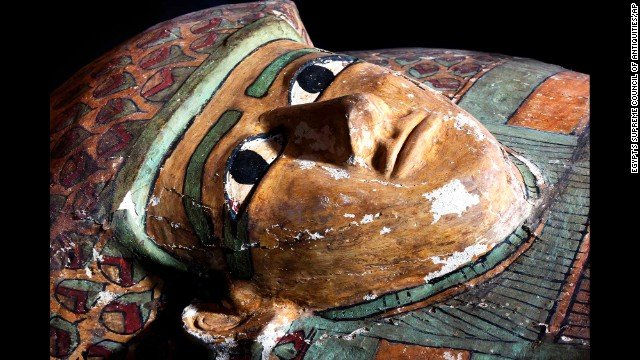 Rare Human-Shaped Sarcophagus With An Unidentified Well-Preserved 3,600-Year-Old Mummy Unearthed In Egypt Raresarco