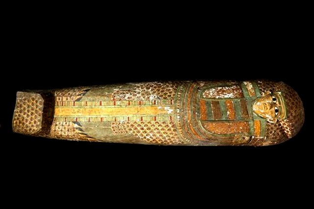 Rare Human-Shaped Sarcophagus With An Unidentified Well-Preserved 3,600-Year-Old Mummy Unearthed In Egypt Raresarco2