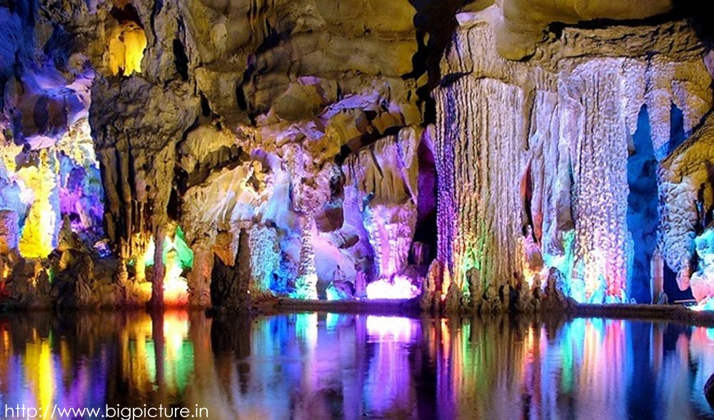 Spectacular Reed Flute Cave With Multicolored Lighting Admired By Millions Rflutecave04