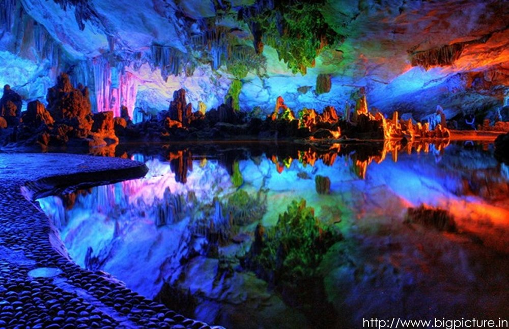 Spectacular Reed Flute Cave With Multicolored Lighting Admired By Millions Rflutecave08