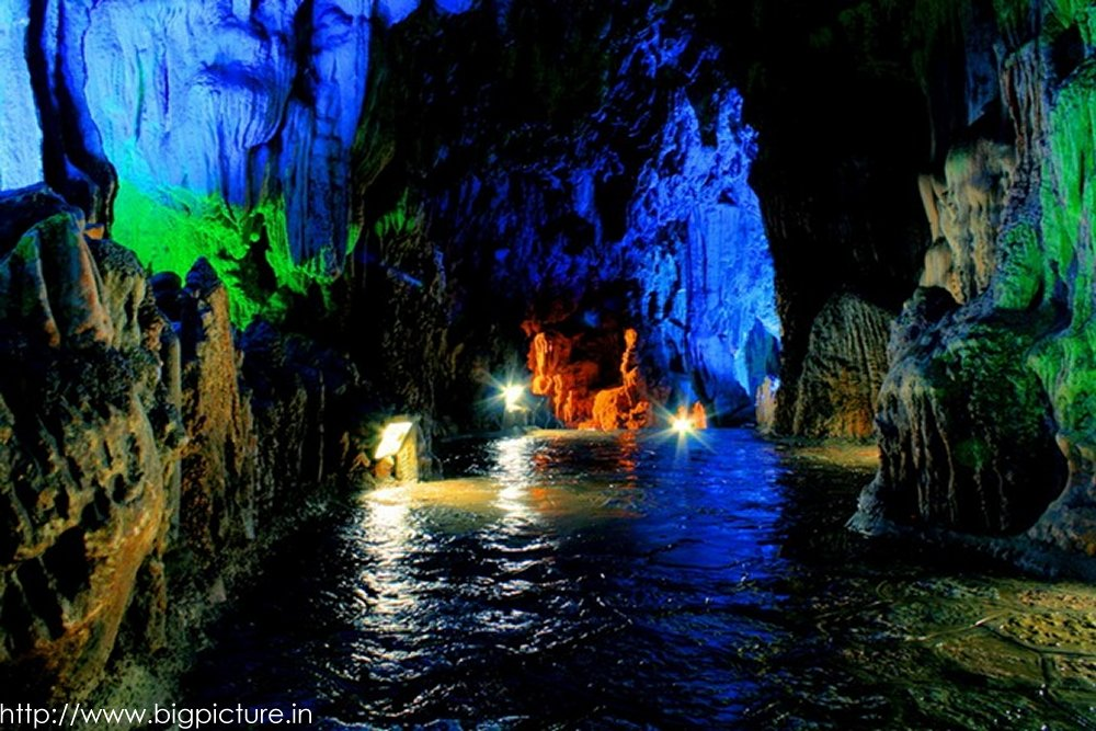 Spectacular Reed Flute Cave With Multicolored Lighting Admired By Millions Rflutecave09
