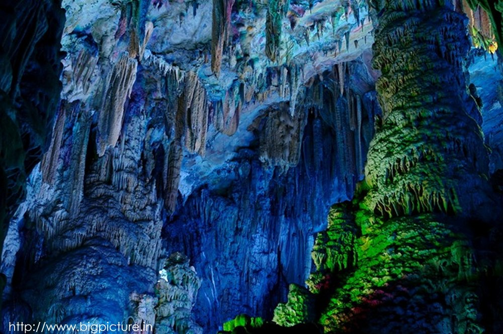 Spectacular Reed Flute Cave With Multicolored Lighting Admired By Millions Rflutecave11