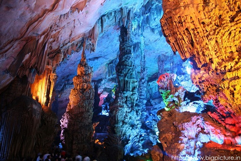 Spectacular Reed Flute Cave With Multicolored Lighting Admired By Millions Rflutecave12