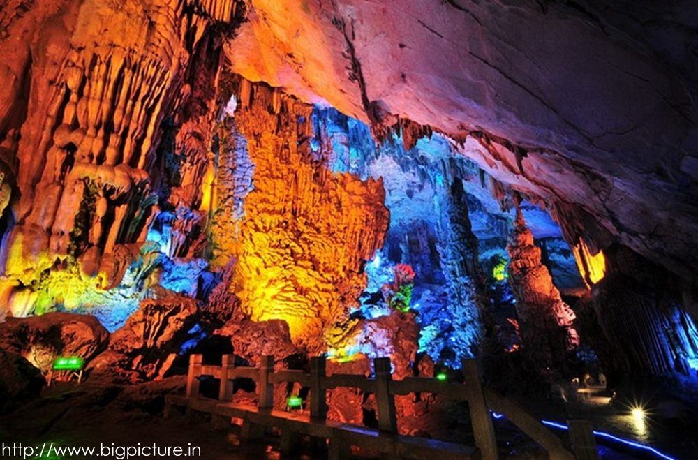 Spectacular Reed Flute Cave With Multicolored Lighting Admired By Millions Rflutecave14