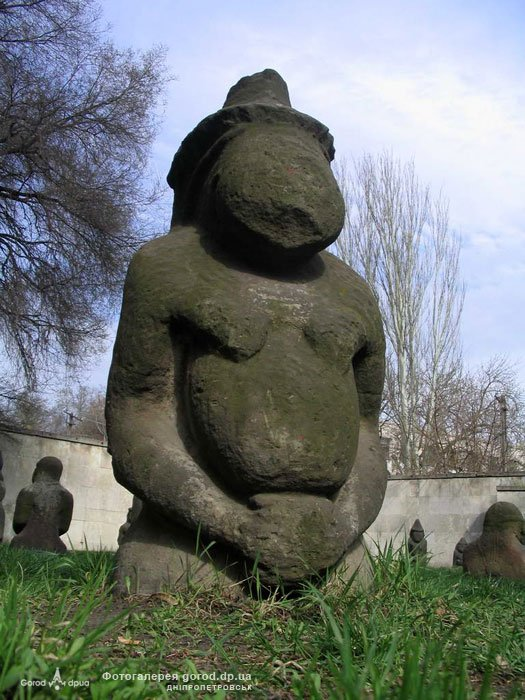 "Striking Ancient ""Stone Idols"" - The Forgotten Polovtsian Statues Of Eastern Europe Statueseaseurope4"