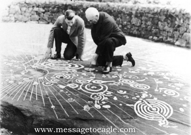 Mysterious Cochno Stone Uncovered Again After 50 Years Cochnostone3