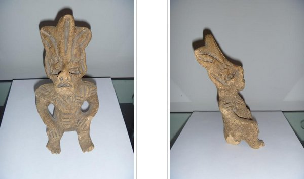 Very Curious Ancient Reptilian Humanoid Figure Discovered In Mexico Reptilianhumanoidmexico3