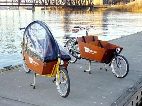 Me passer de voiture grâce au Yuba Mundo Bakfiet_bike