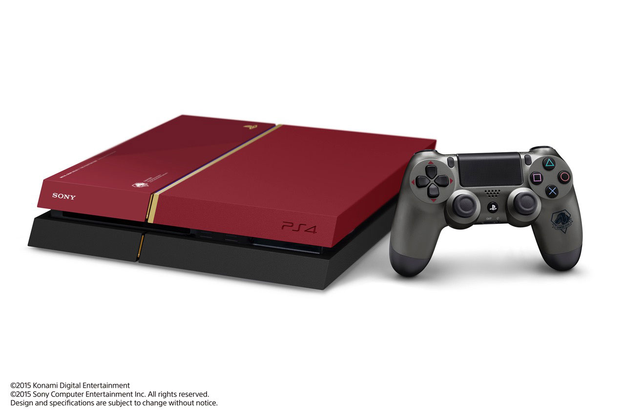 Hideo Kojima Shows Discarded Metal Gear Solid V PS4 Prototypes; JP Store-Specific Bonuses Revealed Special-Edition-MGSV-The-Phantom-Pain-PlayStation-4-5