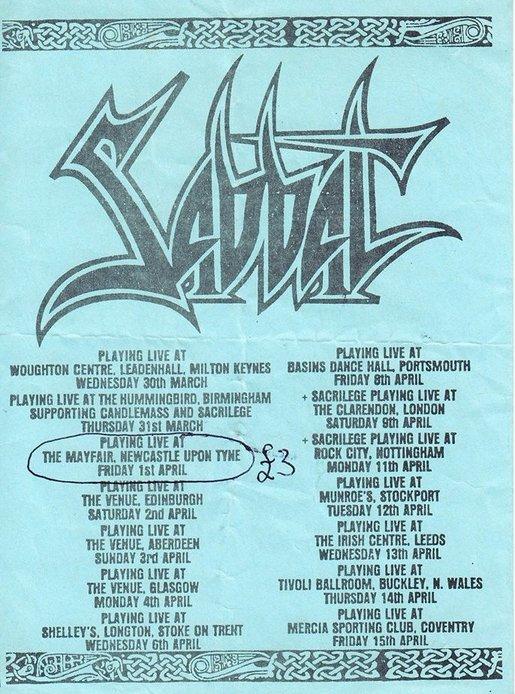 99 WAYS TO THRASH: XXX Slayer - South of Heaven - Página 13 19880330