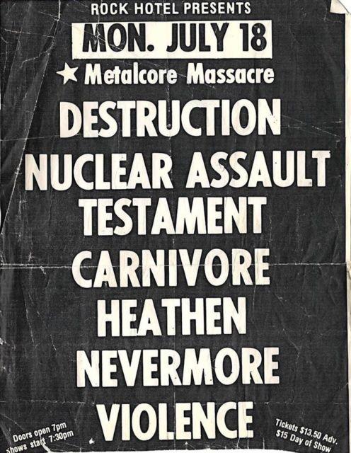 99 WAYS TO THRASH: XXX Slayer - South of Heaven - Página 13 19880718a