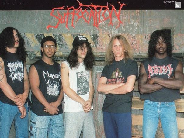 Metal 70s à 10s : top cds et top groupes Suffocation