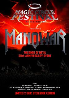 Detalles del nuevo DVD de MANOWAR Magiccircle