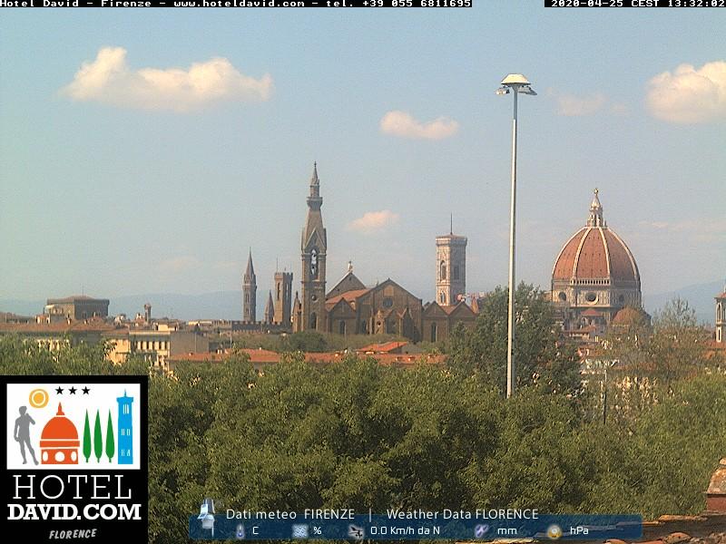 AtmosferaToscana previsioni meteo - WebCam Firenze-HotelDavid