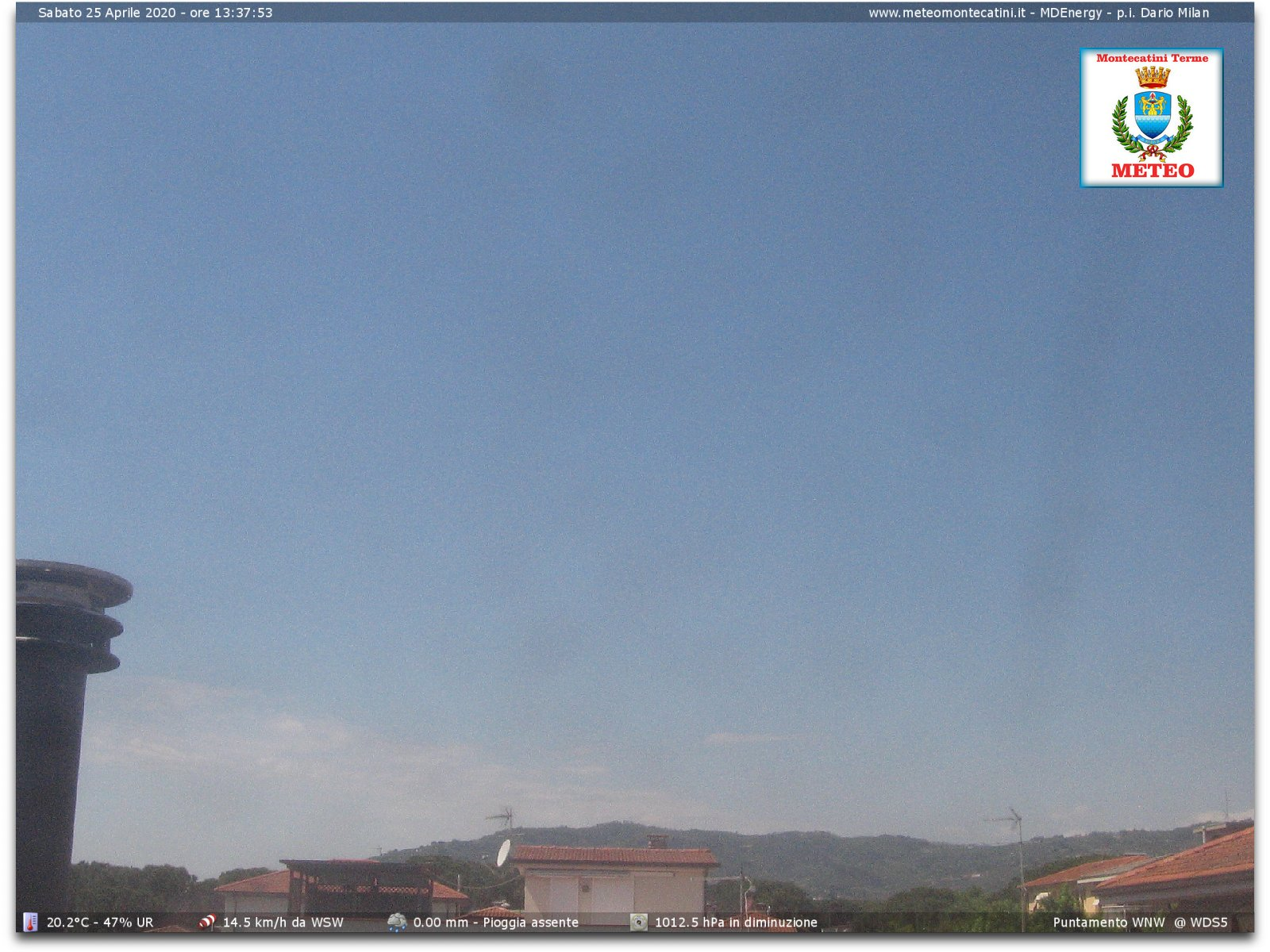 AtmosferaToscana previsioni meteo - WebCam Cam