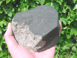 A quoi ressemble une vraie météorite ? Meteorite6