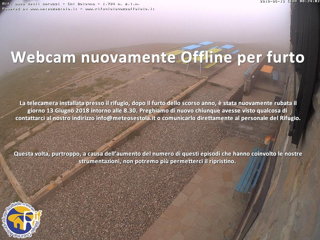 WebCam rif. Duca degli Abruzzi CAI Bologna By meteosestola.it