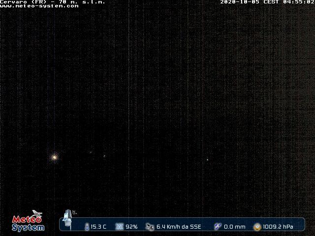 Webcam Cervaro (FR) Cervaro