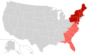 Clima, allarme negli Usa: da New York a Miami, l'east coast rischia di essere sommersa!  East-coast
