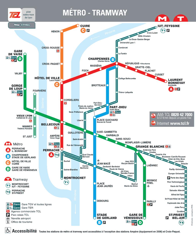 Venir Aux Semaines de l'Hexagone Plan-metro-lyon