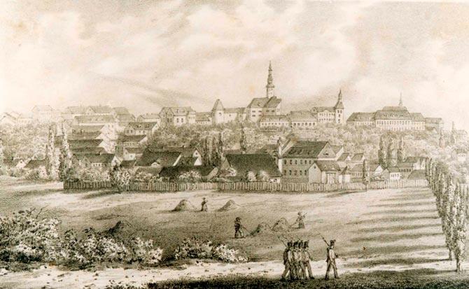 Povijest grada Zagreba Vedute-Zagreba-Daruvar-1
