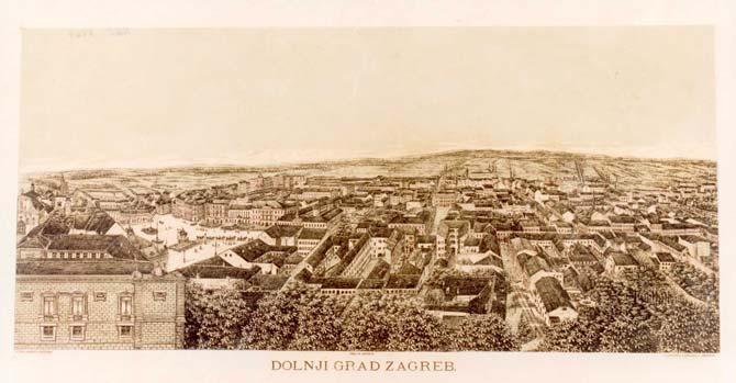 Povijest grada Zagreba Vedute-Zagreba-GMS-10
