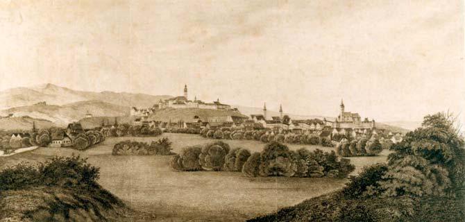 Povijest grada Zagreba Vedute-Zagreba-GMS-4