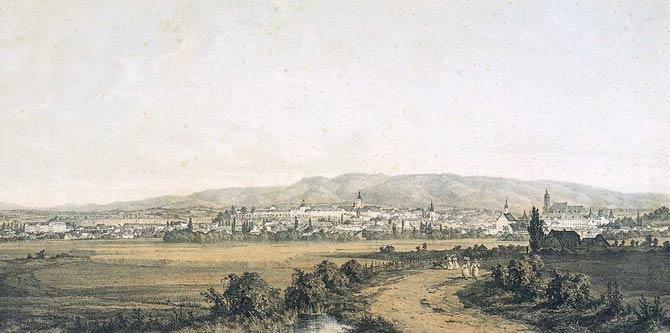 Povijest grada Zagreba Vedute-Zagreba-GMS-8