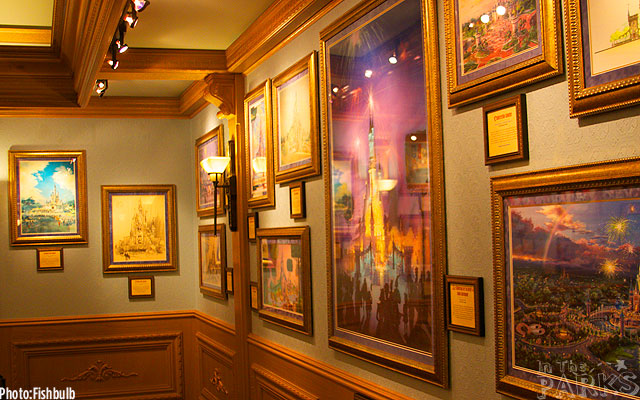 [Disneyland Park] The Disney Gallery - Exposition Crowning Achievements Creating Castles for Magical Kingdoms 8531ITP_-_070612-IMG_1509