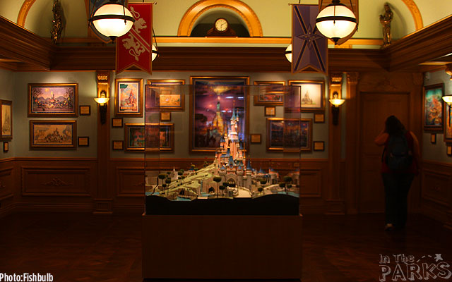 [Disneyland Park] The Disney Gallery - Exposition Crowning Achievements Creating Castles for Magical Kingdoms ITP_-_070612-IMG_1501