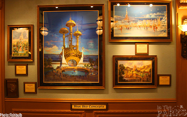 [Disneyland Park] The Disney Gallery - Exposition Crowning Achievements Creating Castles for Magical Kingdoms ITP_-_070612-IMG_1520