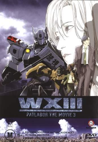 [ANIME/MANGA/OAV/FILM] Mobile Police Patlabor Reboot (Kidou Keisatsu Patlabor Reboot) 8941