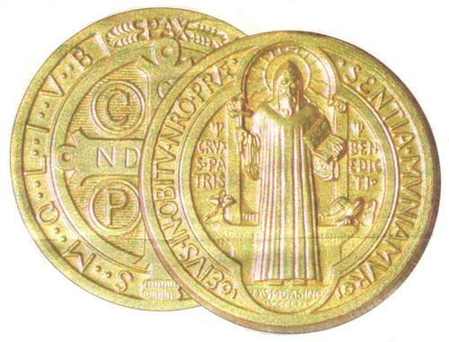 Pour se protéger du démon (Médaille ou Croix de Saint-Benoît) Medaille-St-Benoit-w
