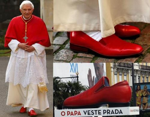 Warning For Religious People   Pope-Prada